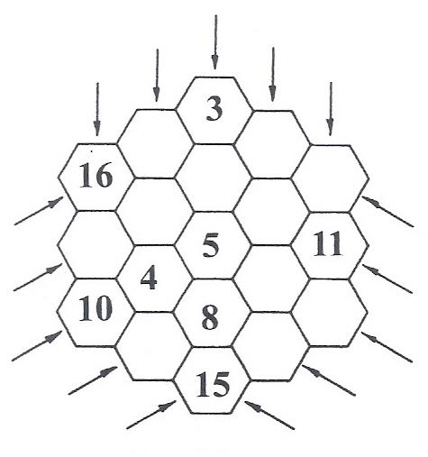 Panal Magico Algebraico Juegos Y Matematicas