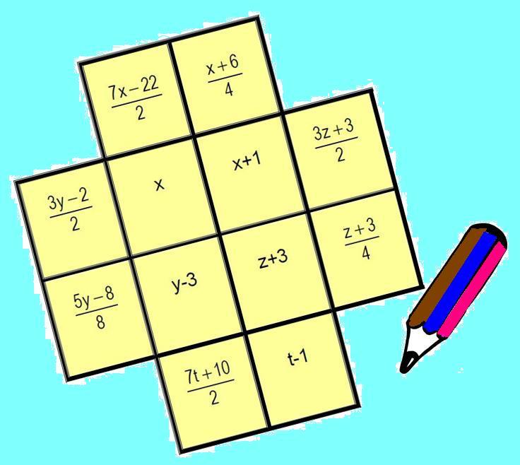 LA CRUZ ALGEBRAICA | Juegos y matemáticas