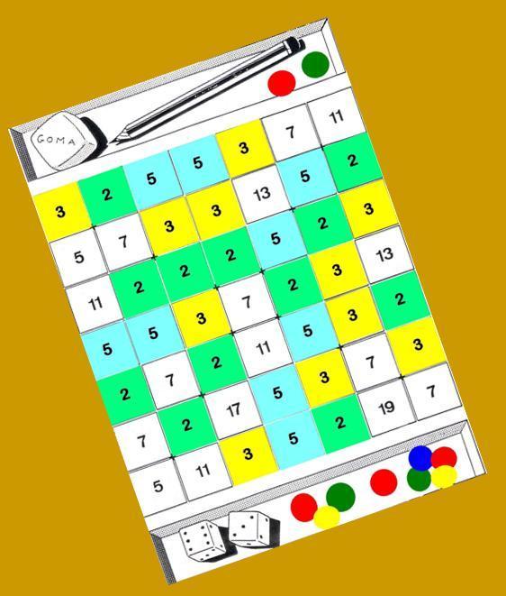 Divisores De Un Numero Fila Y Columna Juegos Y Matematicas