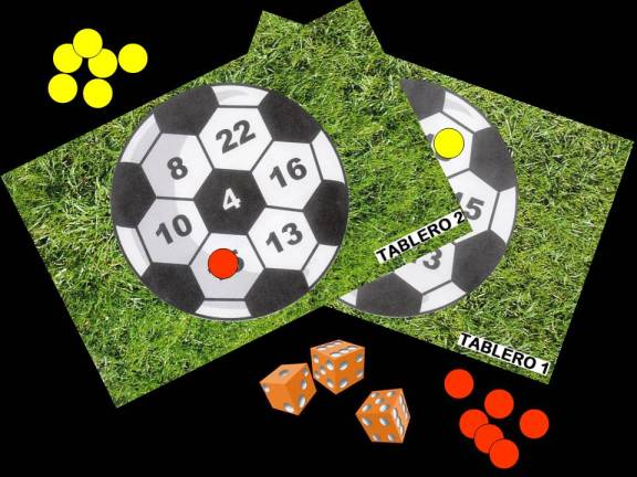 Imagen material del juego: Hacerse con el balón.