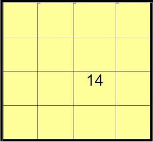 Cuadrado magico algebraico 3