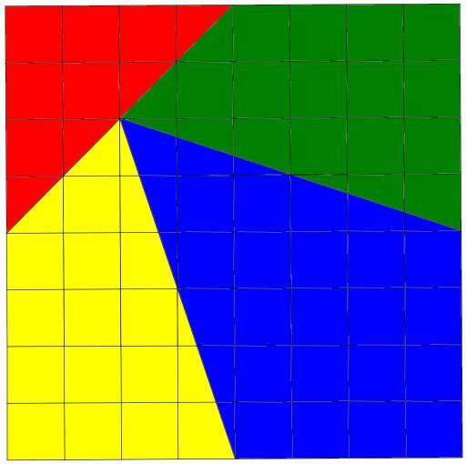 puzzle de los triangulos