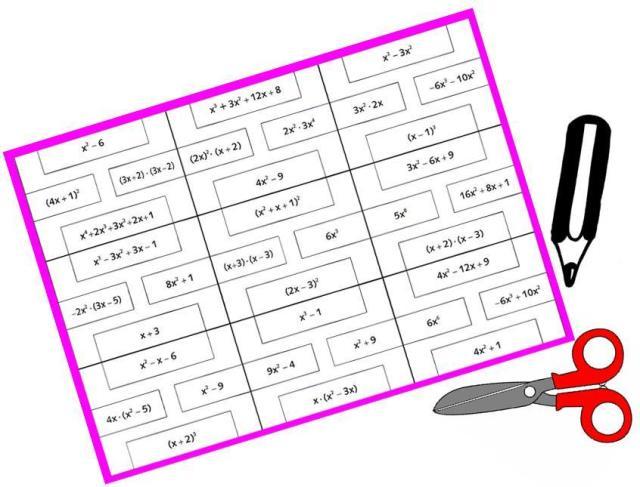 puzzle polinomios