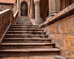 escalera castillo