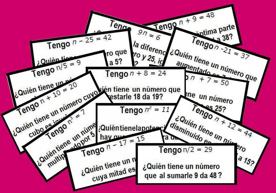 CADENA DE ALGEBRA: TRADUCCIÓN DEL LENGUAJE NATURAL AL LENGUAJE ...