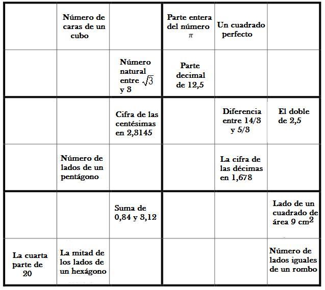 Sudomates Primaria tablero