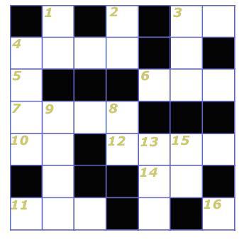 crucigrama de ecuaciones de primer grado muy iniciales juegos y