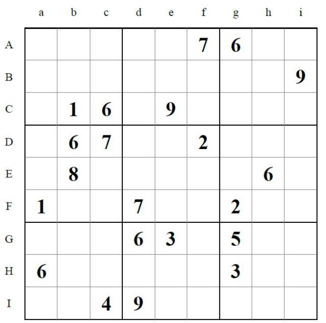 Tablero Sudoku1