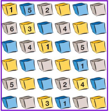 Tablero sudoku magico
