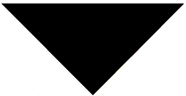 triangulo rectangulo isoscelessombra