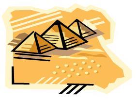 dibujo piramide