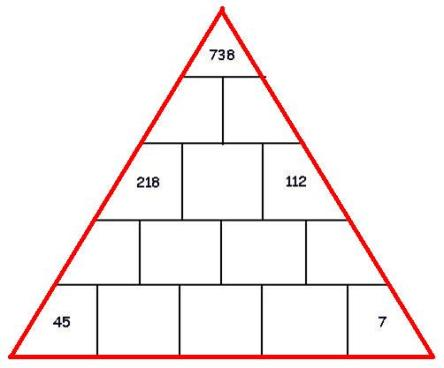 piramide triangular vacia